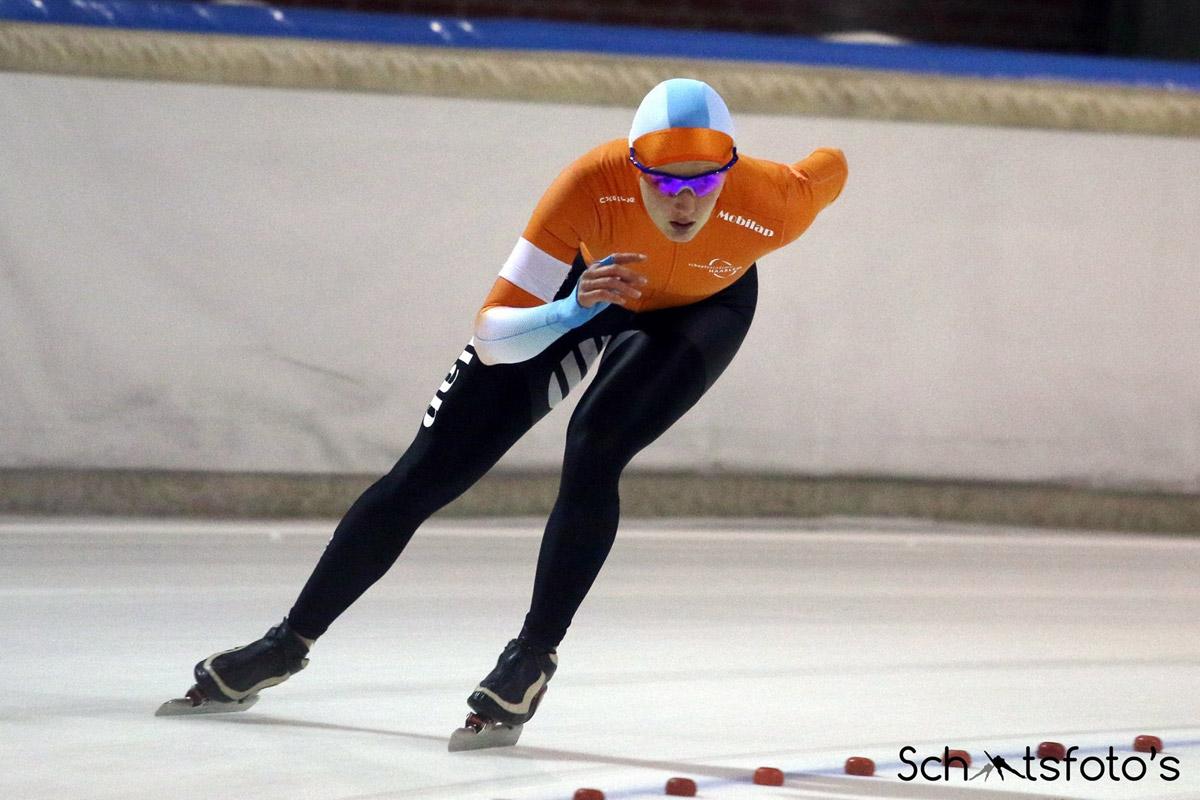 Isabelle van Elst Nederlands Kampioen 500 meter