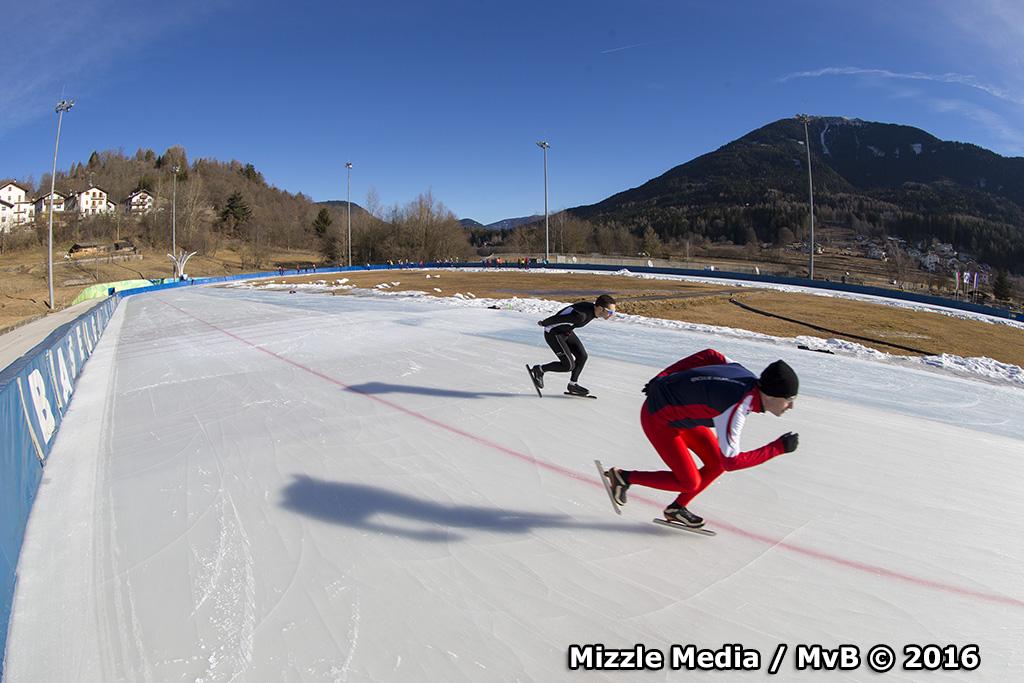 Een week schaatsen op een Olympische Oval?