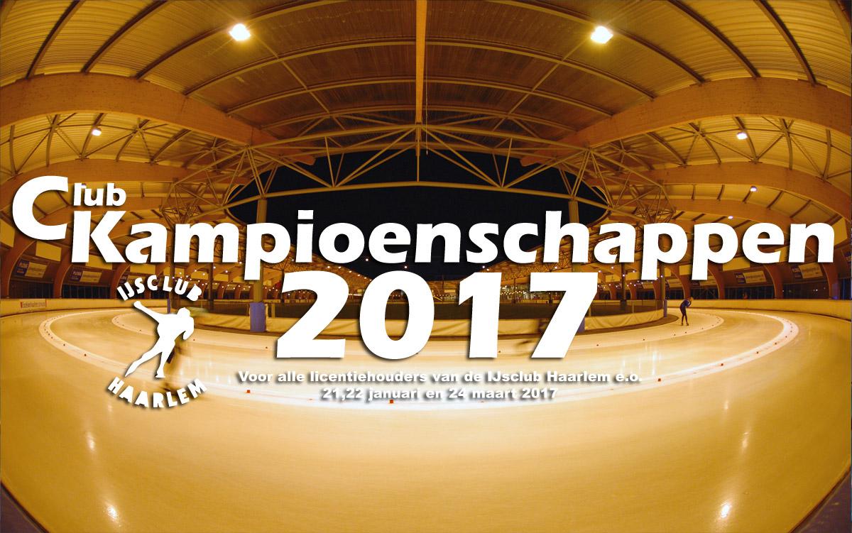 Clubkampioenschappen 2016/2017