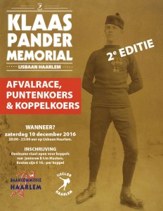 Klaas Pander Memorial 2016