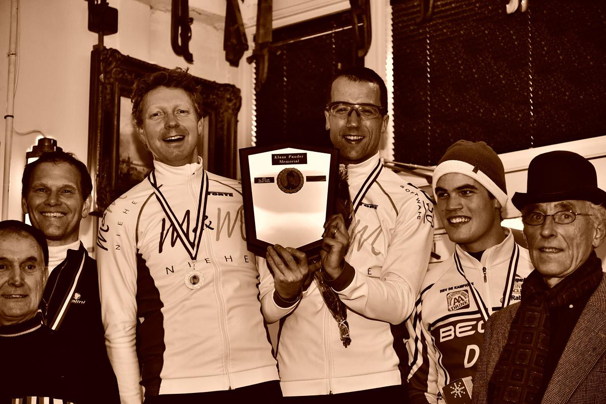 Winnaars Klaas Pander Memorial 2016; Gem Wender en Evert Jan van Dijk