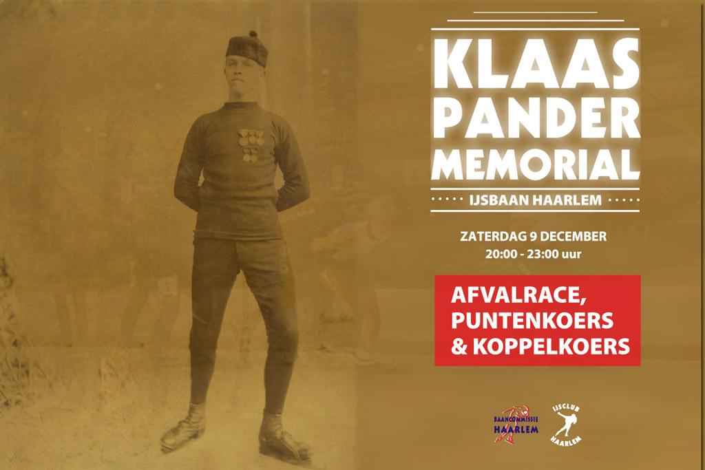 Klaas Pander Memorial 2017