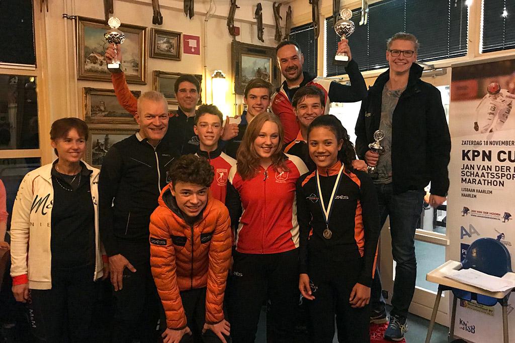 Haarlem Trofee 2017-2018 winnaar IJsclub Haarlem