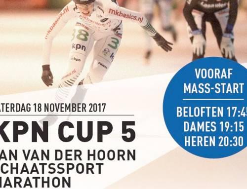 Jan van der Hoorn Schaatsmarathon 2017