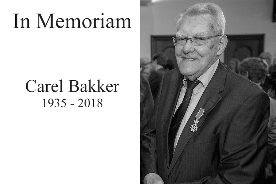 In Memoriam Carel Bakker