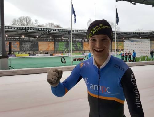 Jeroen Janissen Nederlands Kampioen Marathonschaatsen