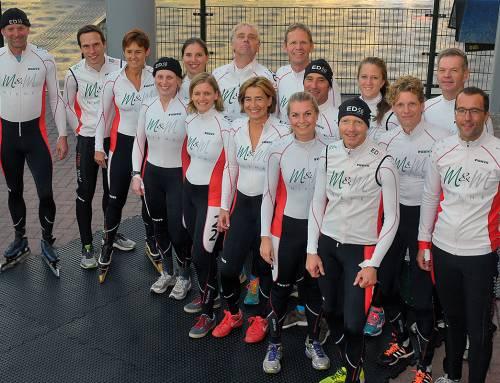 Marathonschaatsen verbindt al 20 jaar vriendenploeg