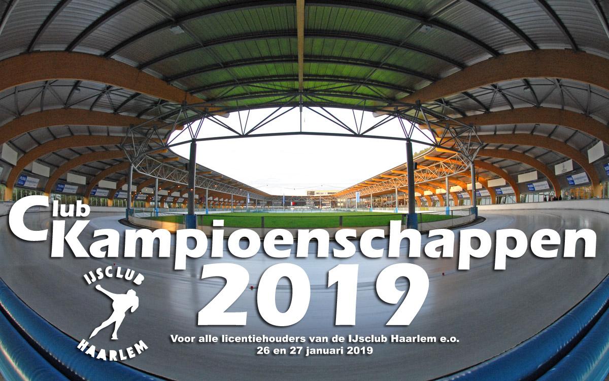 Clubkampioenschappen 2018/2019