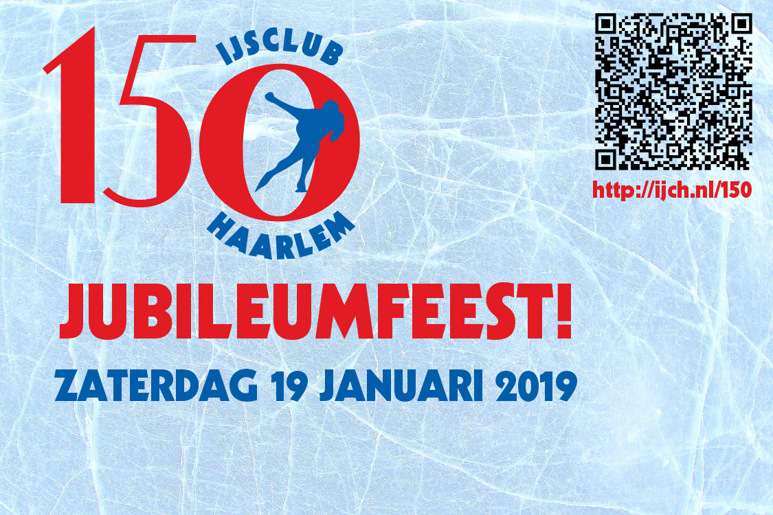 IJsclub Haarlem viert 150-jarig jubileum
