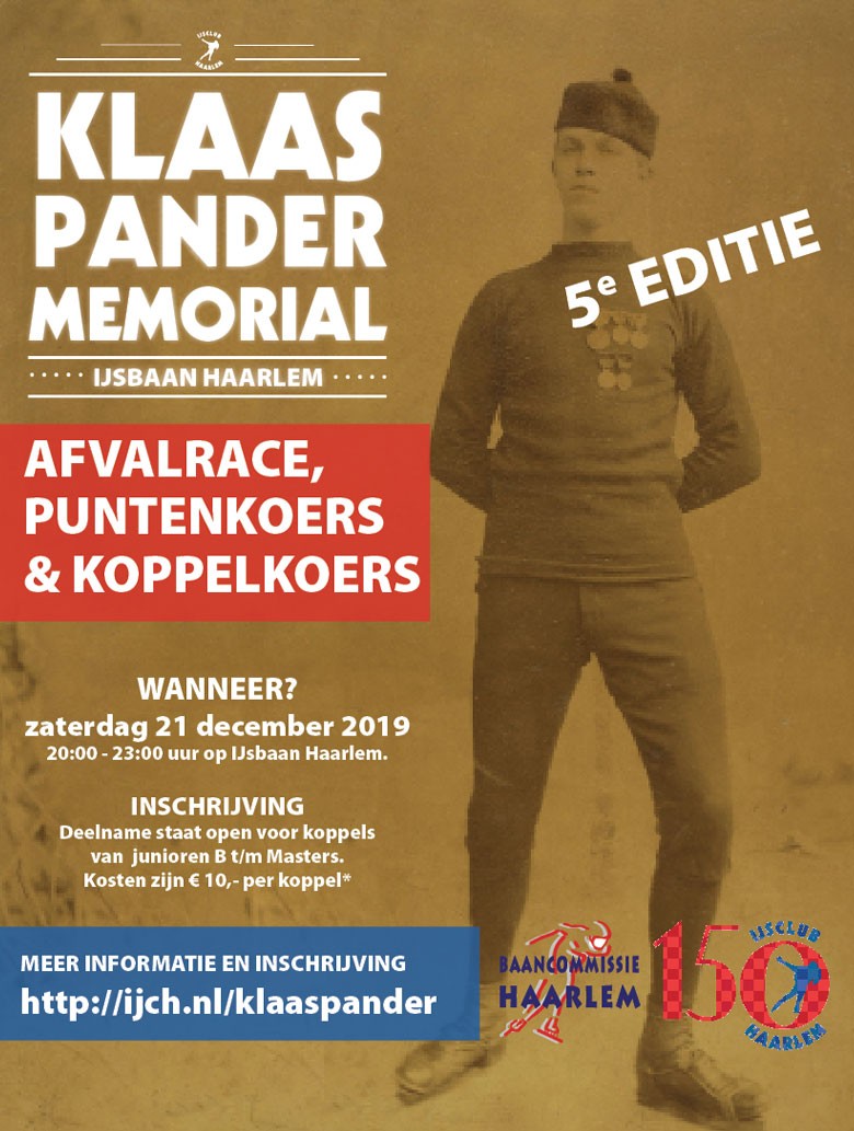 Klaas Pander Memorial 2018
