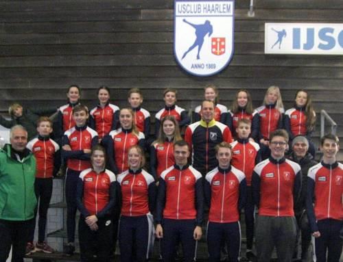 Junioren wedstrijdschaatsen: nieuwe kleding met sponsor Teklab
