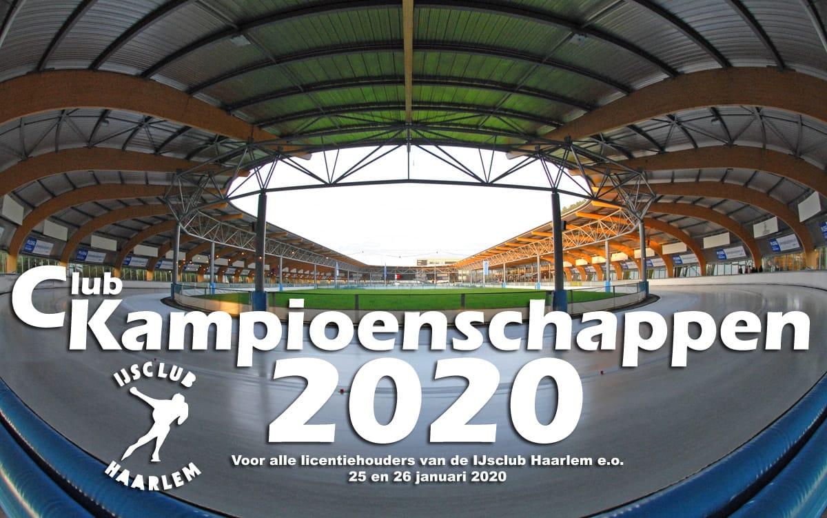 Clubkampioenschappen 2019/2020