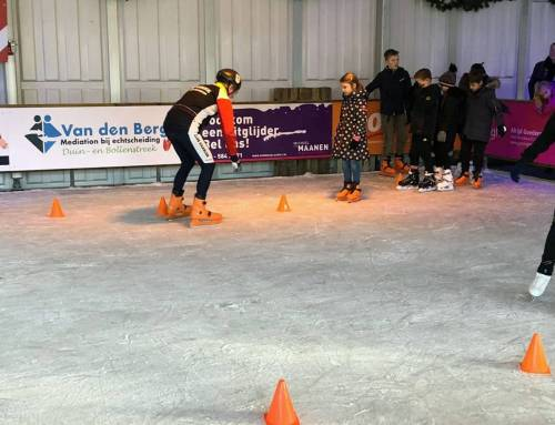 Schaatsclinic in Bennebroek
