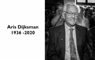 Aris Dijksman 1936-2020